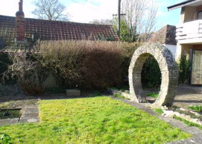 02 Moongate Garden Before 1