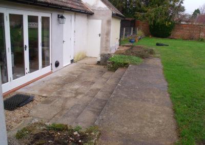 03 Limestone Terrace & Steps Before 3