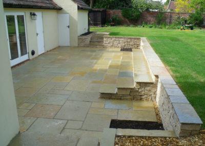 09 Limestone Terrace & Steps After 2