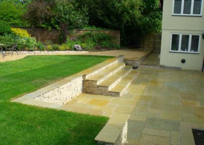 10 Limestone Terrace & Steps After 3