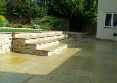 11 Limestone Terrace & Steps After 3
